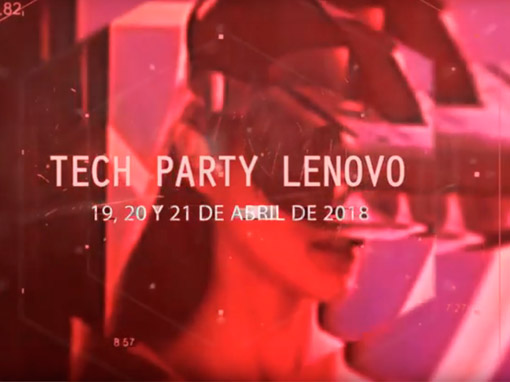 TECH PARTY LENOVO Valencia 2018